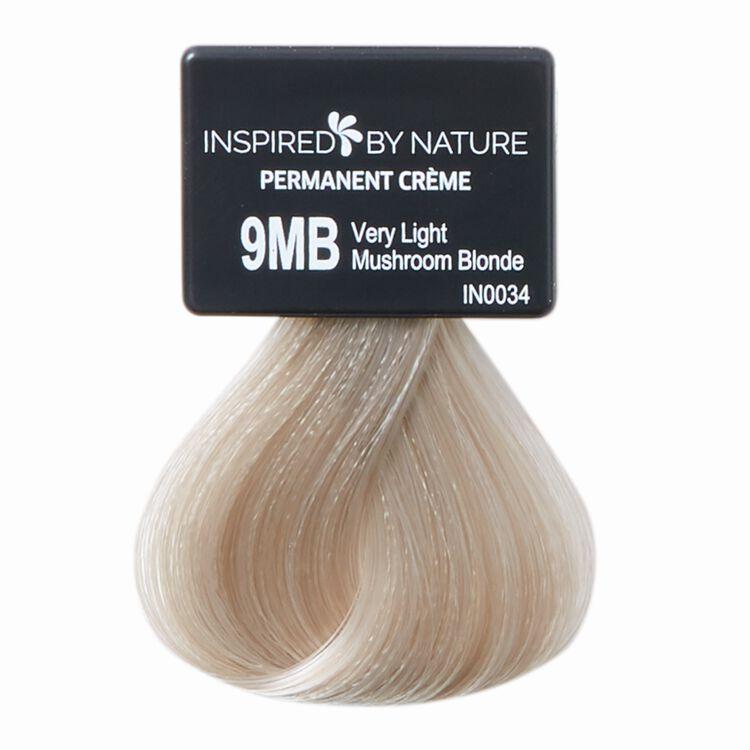 Ammonia-Free Permanent Hair Color Very Light Mushroom Blonde 9MB