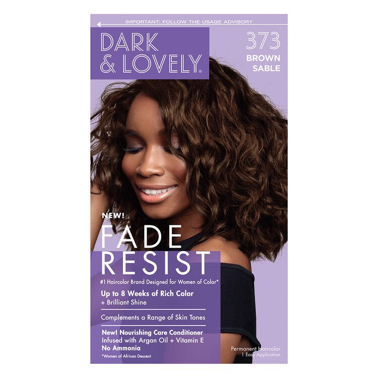 Dark and Lovely Color Brown Sable