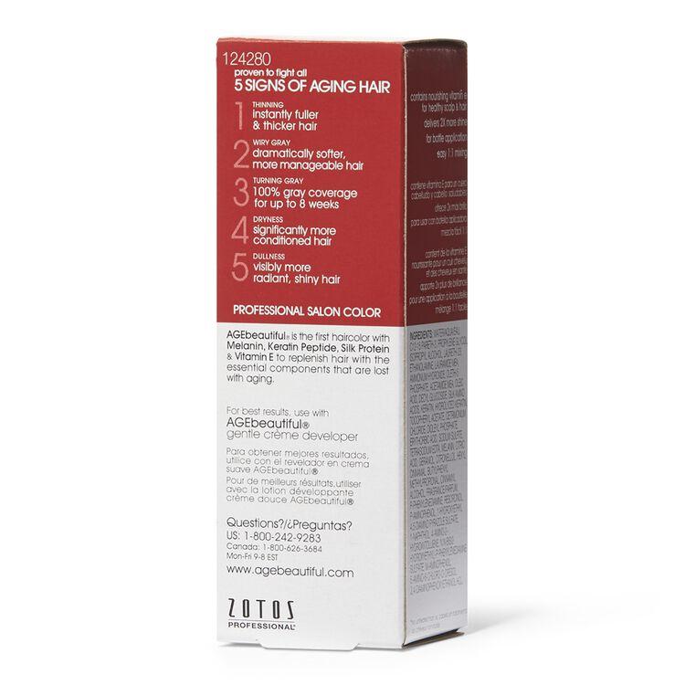 Anti-Aging 4RM Dark Red Mahogany Brown Permanent Liquid Hair Color