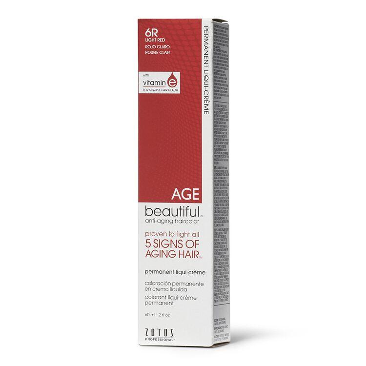 6R Light Red Permanent Liqui-Creme Hair Color