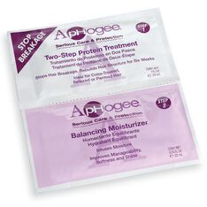 Two Step Protein Treatment & Balanced Moisturizer Packette
