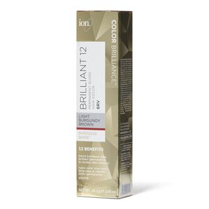 6RV Light Burgundy Brown Permanent Gloss Hair Color