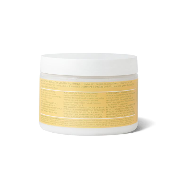 Self-Heating Coil Conditioning Masque
