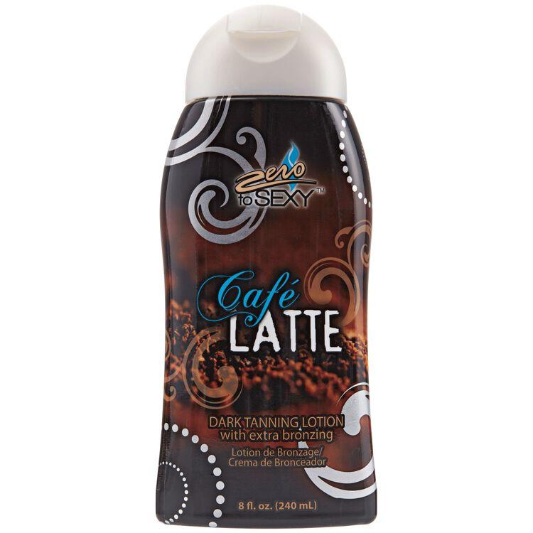 Extra Bronzing Cafe Latte Dark Tanning Lotion