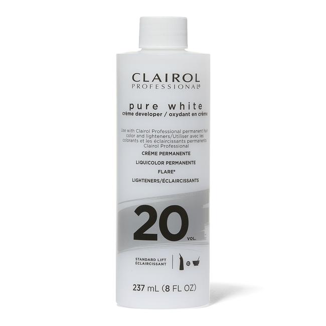Pure White 20 Volume Creme Developer 8 oz.