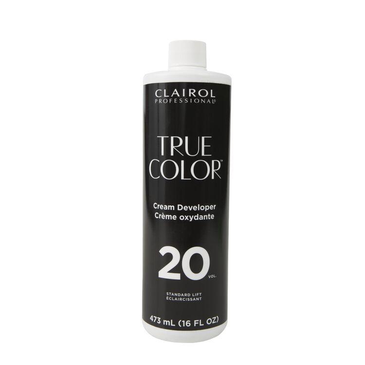 True Color 20 Volume Cream Developer 16oz.