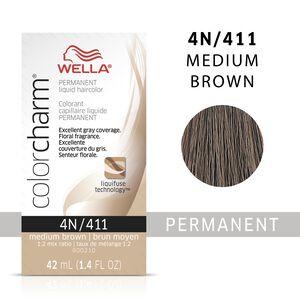 Medium Brown Color Charm Liquid Permanent Hair Color