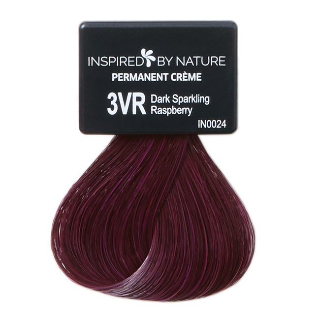 Ammonia-Free Permanent Hair Color Dark Sparkling Raspberry 3VR