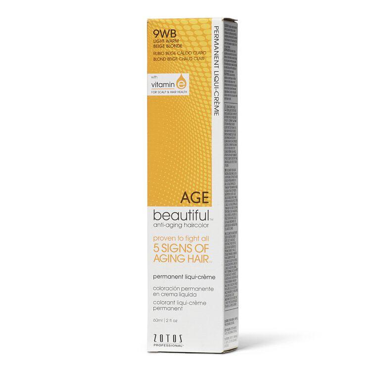 9WB Light Warm Beige Blonde Liqui-Creme Permanent Haircolor