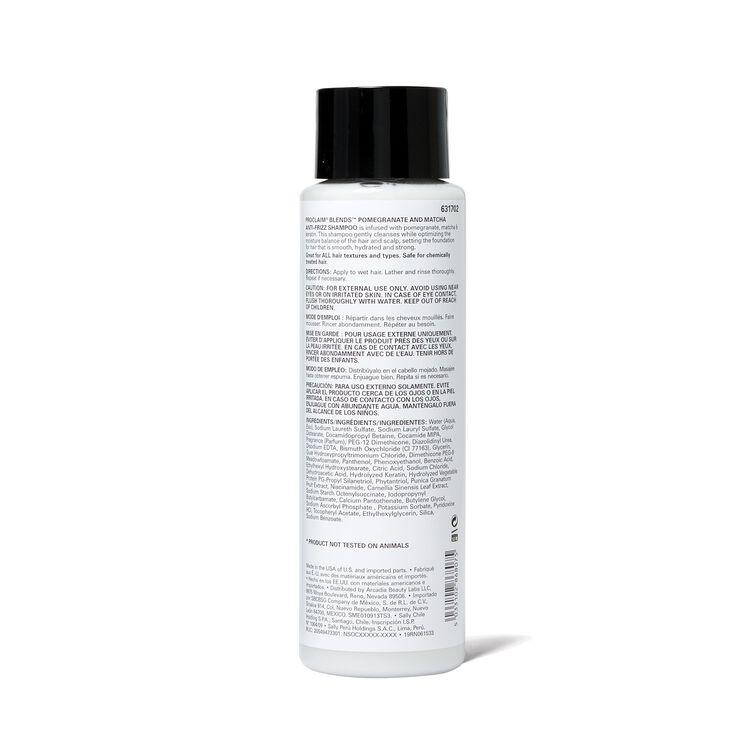 Blends Pomegranate & Matcha Anti-Frizz Shampoo
