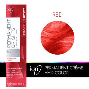 Permanent Brights Creme Hair Color Red