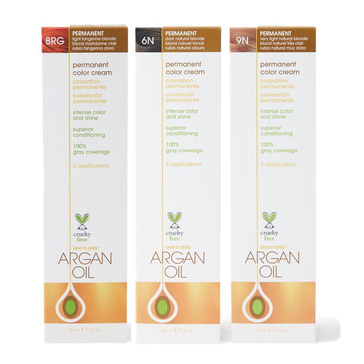 Argan Oil Permanent Color Cream