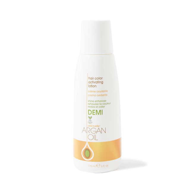 Argan Oil Demi Hair Color Activating Lotion