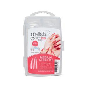 Gelish Soft Gel Tips - Medium Stiletto (110CT)