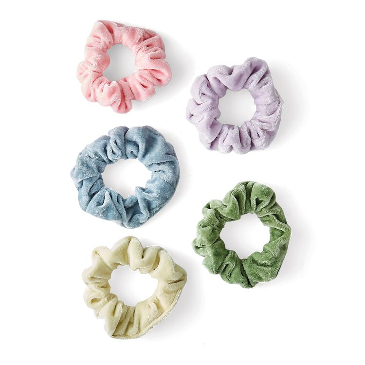Colored Scrunchie Set