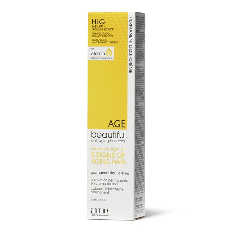 High Lift Golden Blonde Permanent Liqui-Creme Hair Color