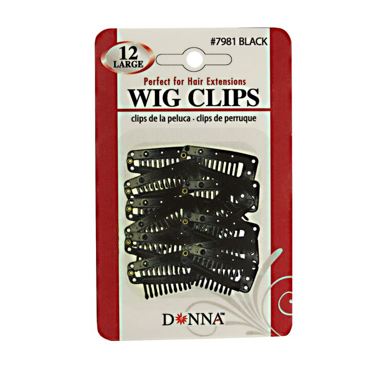 Small Wig Clips