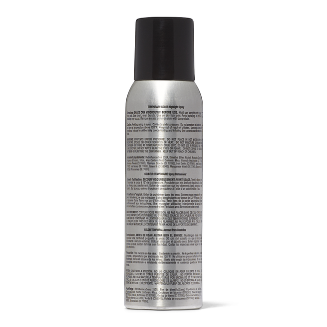 Midnite Black Temporary Color Highlight Spray