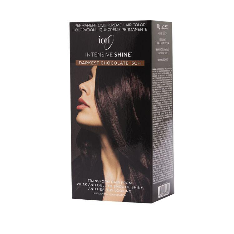 Intensive Shine Hair Color Kit Darkest Chocolate 3CH