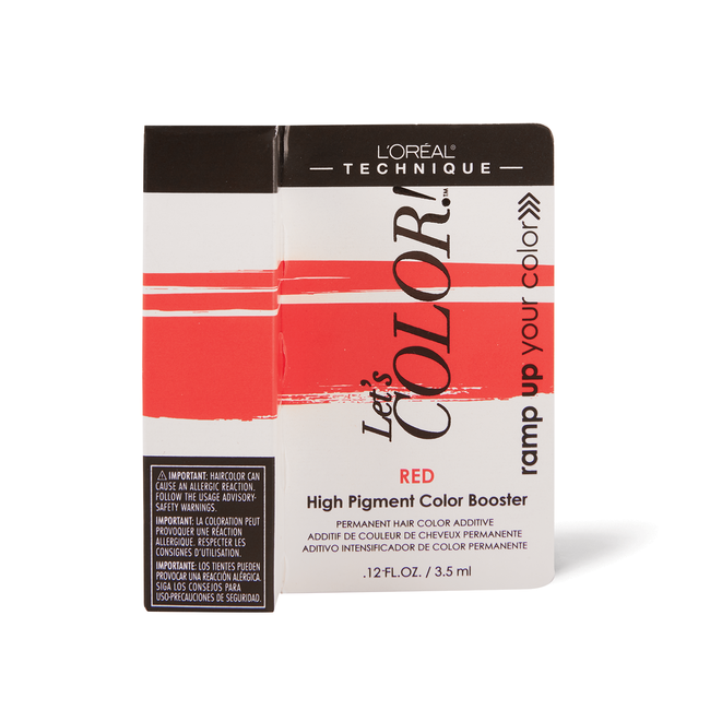 Let's COLOR! Conditioning Gelee Permanent Haircolor Red Booster