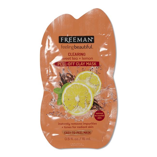 Sweet Tea & Lemon Peel-Away Clay Mask