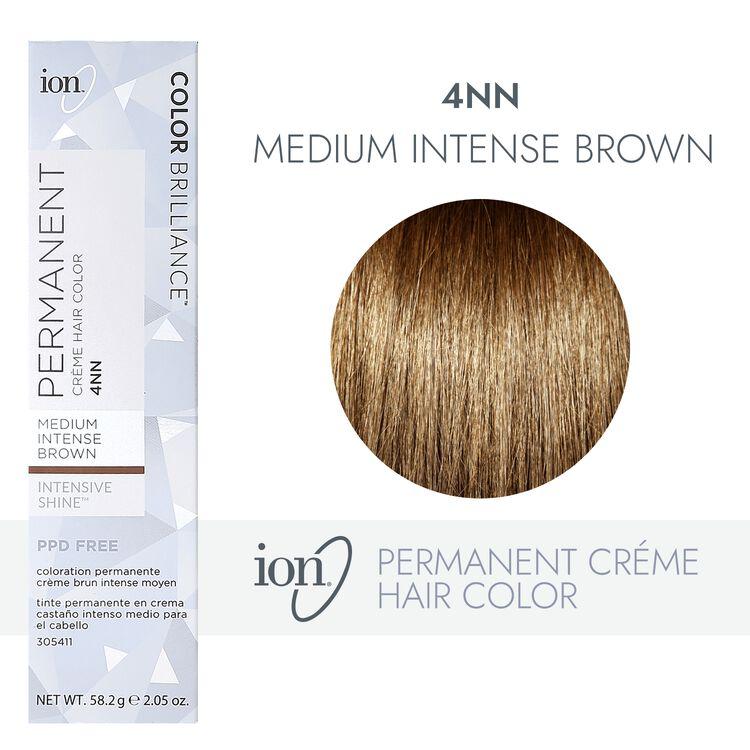 Permanent Creme Intense Neutrals 4NN Medium Intense Brown