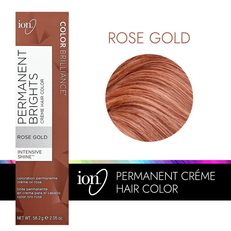 Permanent Brights Creme Hair Color Rose Gold