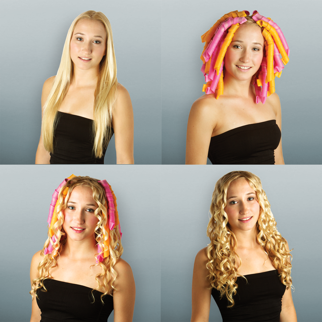 Curlformers® Spiral Curls Styling Kit for Extra Long Hair