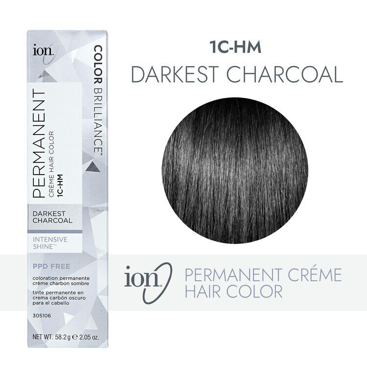 1C-HM Darkest Charcoal Permanent Creme Hair Color