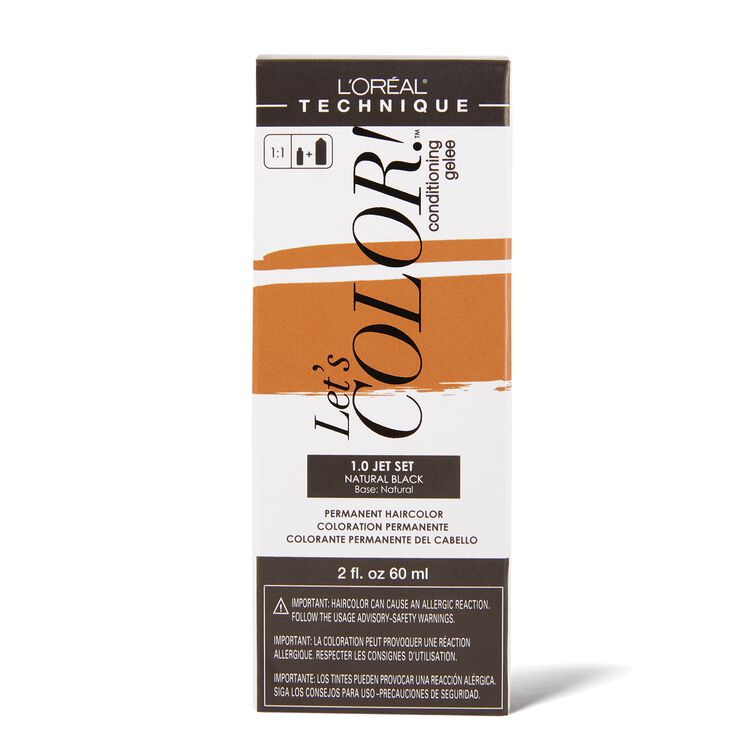 Let's COLOR! Conditioning Gelee Permanent Haircolor 1.0 Jet Set