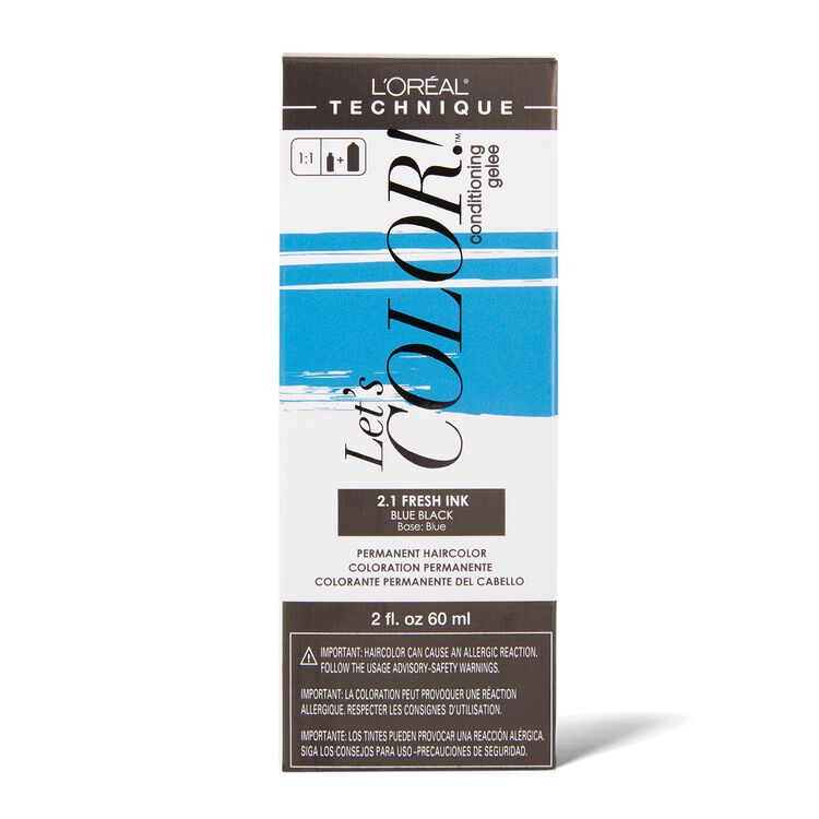 Let's COLOR! Conditioning Gelee Permanent Haircolor 2.1 Fresh Ink