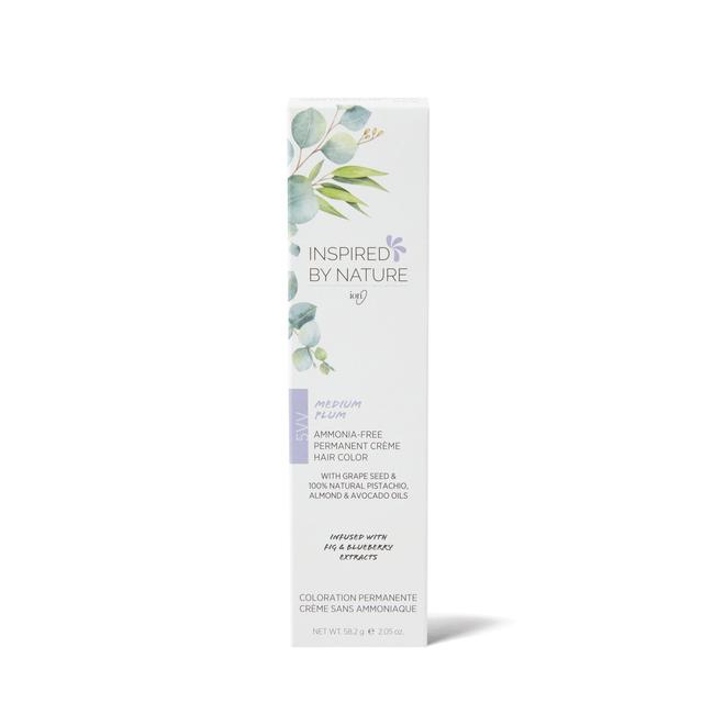 Ammonia-Free Permanent Hair Color Medium Plum 5VV