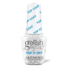 MINI Soak-Off Gel Nail Polish Top It Off