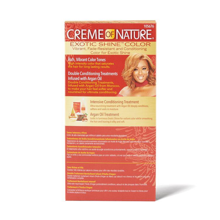Exotic Shine Honey Blonde Permanent Hair Color