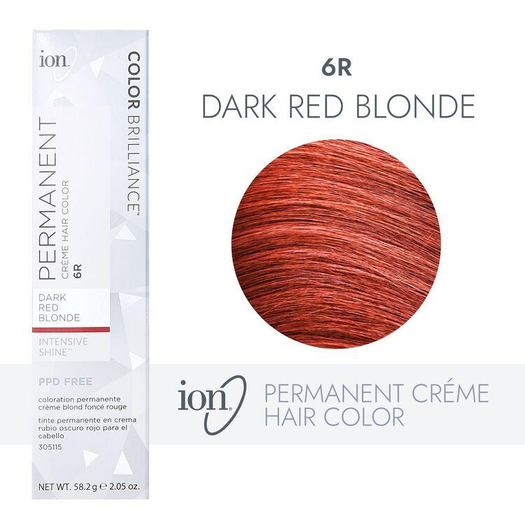 6R Dark Red Blonde Permanent Creme Hair Color