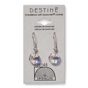 Destine AB Classic Cut Dangle Earring