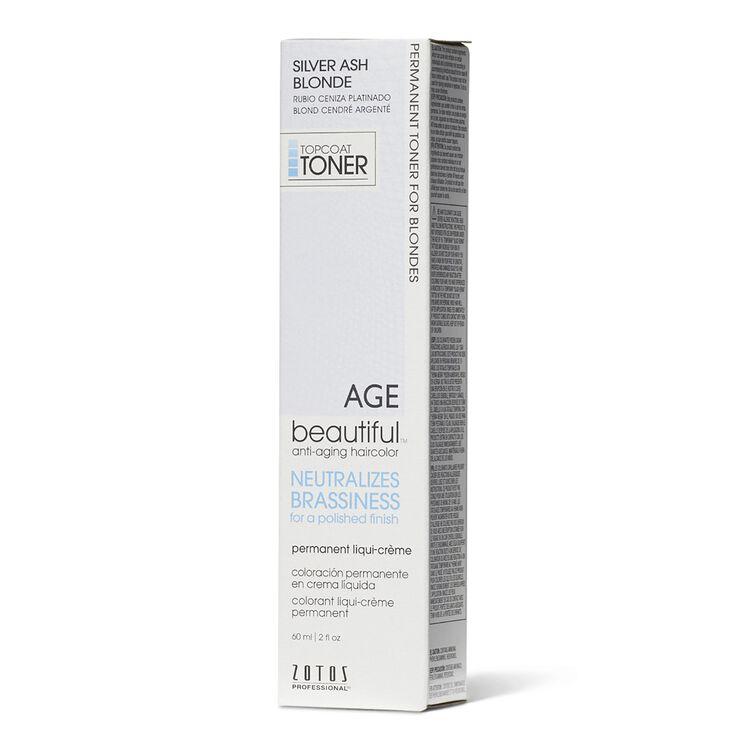 Silver Ash Blonde Permanent Liqui-Creme Topcoat Toner