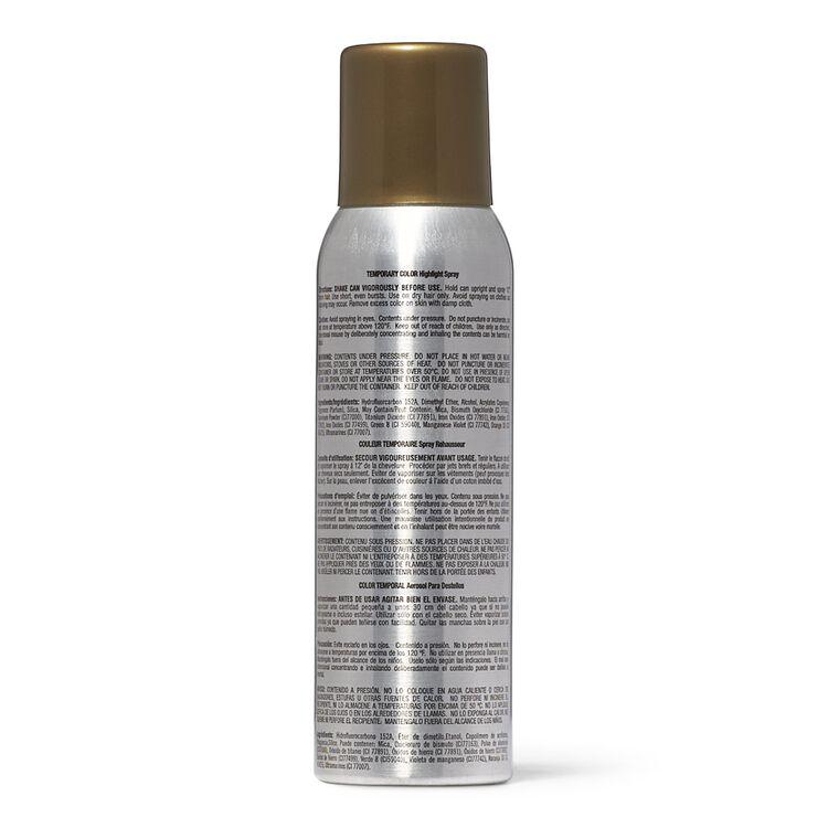 Gold Blonde Temporary Color Highlight Spray