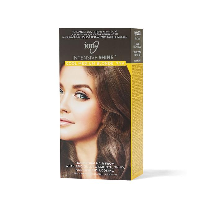 Intensive Shine Hair Color Kit Cool Medium Blonde 7NV