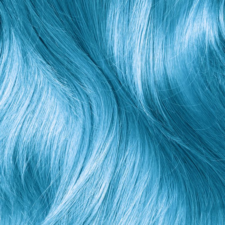 Cyan Semi Permanent Hair Color