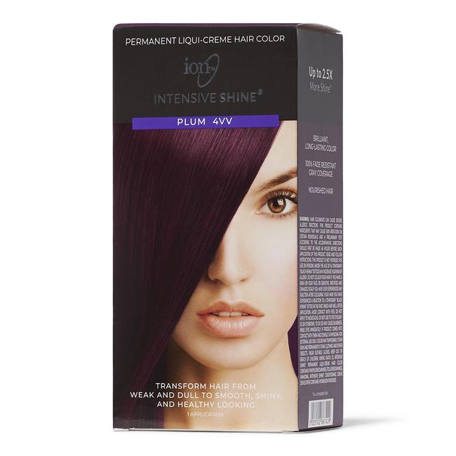 Intensive Shine Hair Color Kit Plum 4VV