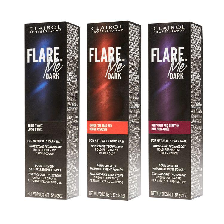 FLARE Me Dark Permanent Cream Color