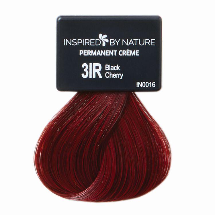 Ammonia-Free Permanent Hair Color Black Cherry 3IR