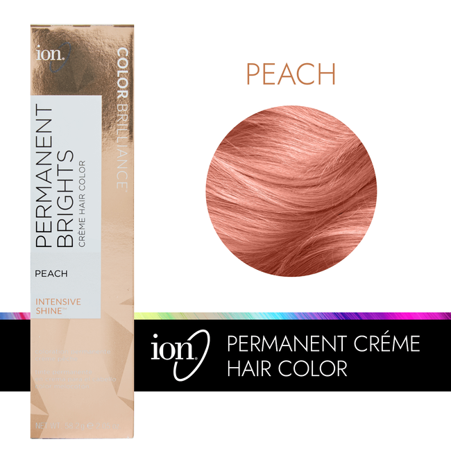 Permanent Brights Creme Hair Color Peach