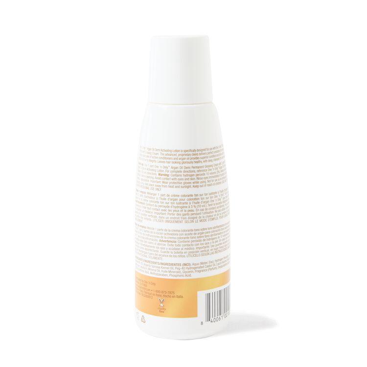 Argan Oil Demi Hair Color Activating Lotion