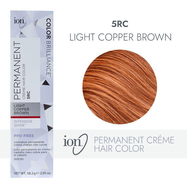 Permanent Creme 5RC Light Copper Brown