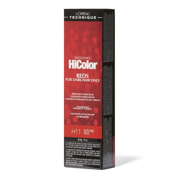 Intense Red Permanent Creme Hair Color