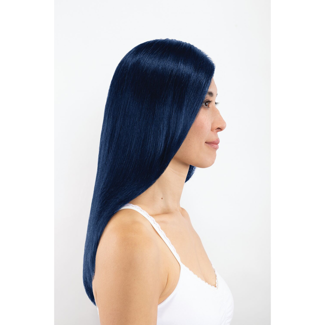 4B Dark Blue Permanent Liqui-Creme Hair Color
