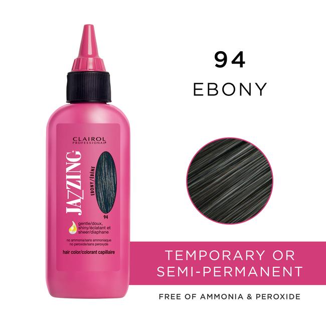 Clairol Jazzing Temporary Hair Color Ebony