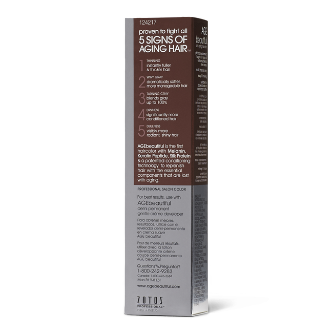 6N Light Brown Demi Permanent Liqui Creme Hair Color